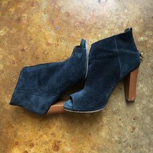 Loft navy blue heels